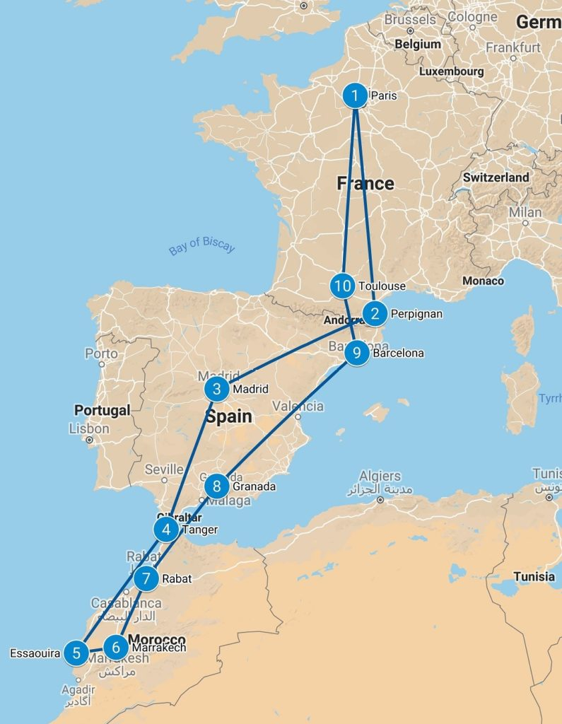 Morocco Airtrip 2018