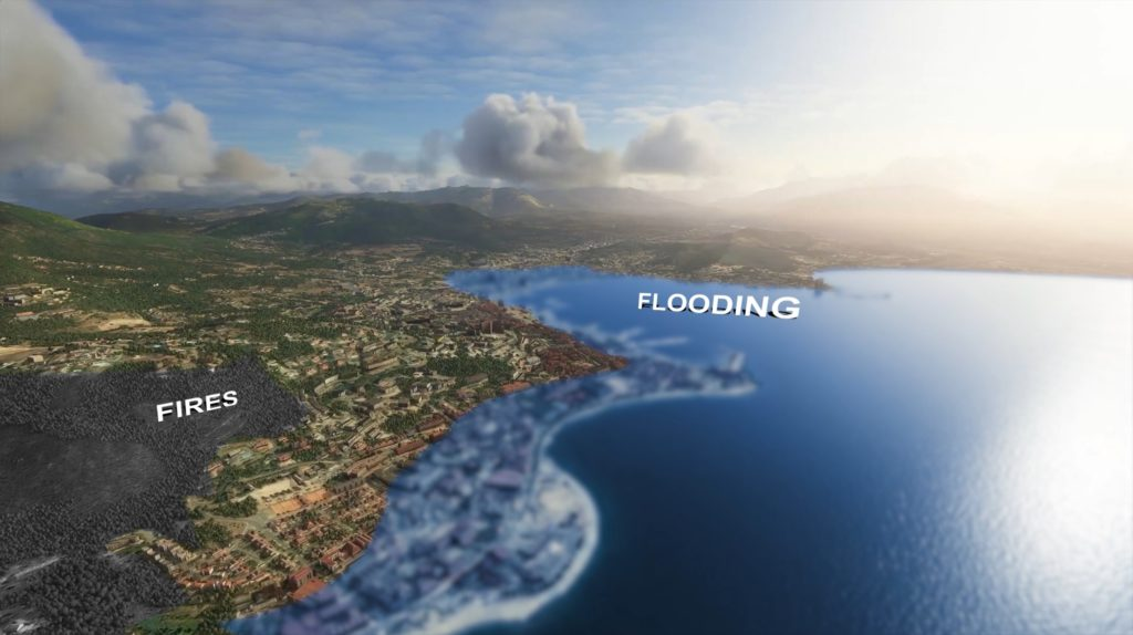 Your Future Earth (3D Earth App showing climate change)
