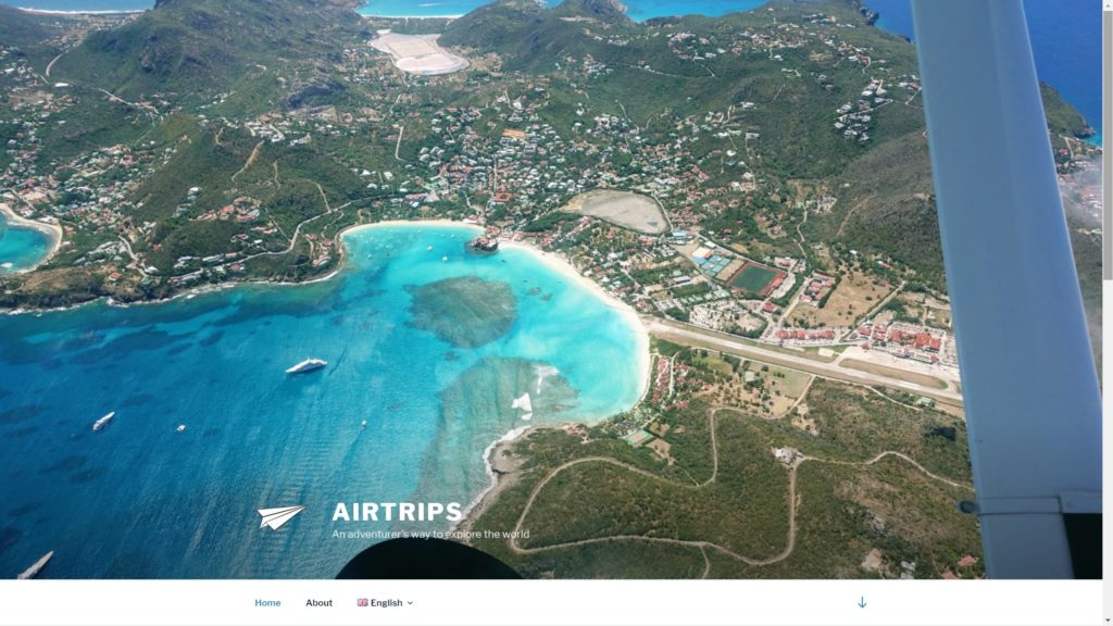 Airtrips website for pilots