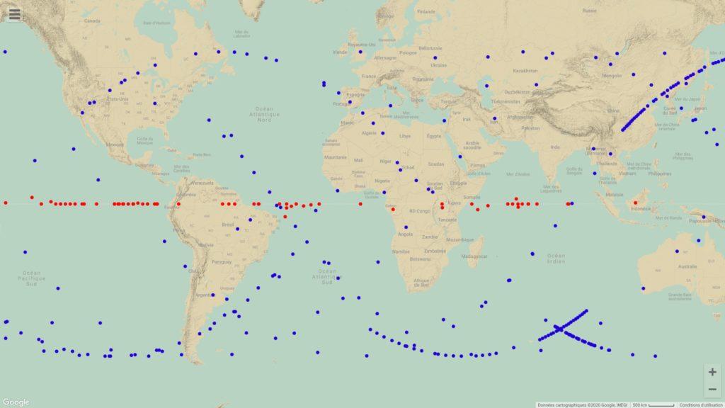 Realtime Satellite Map